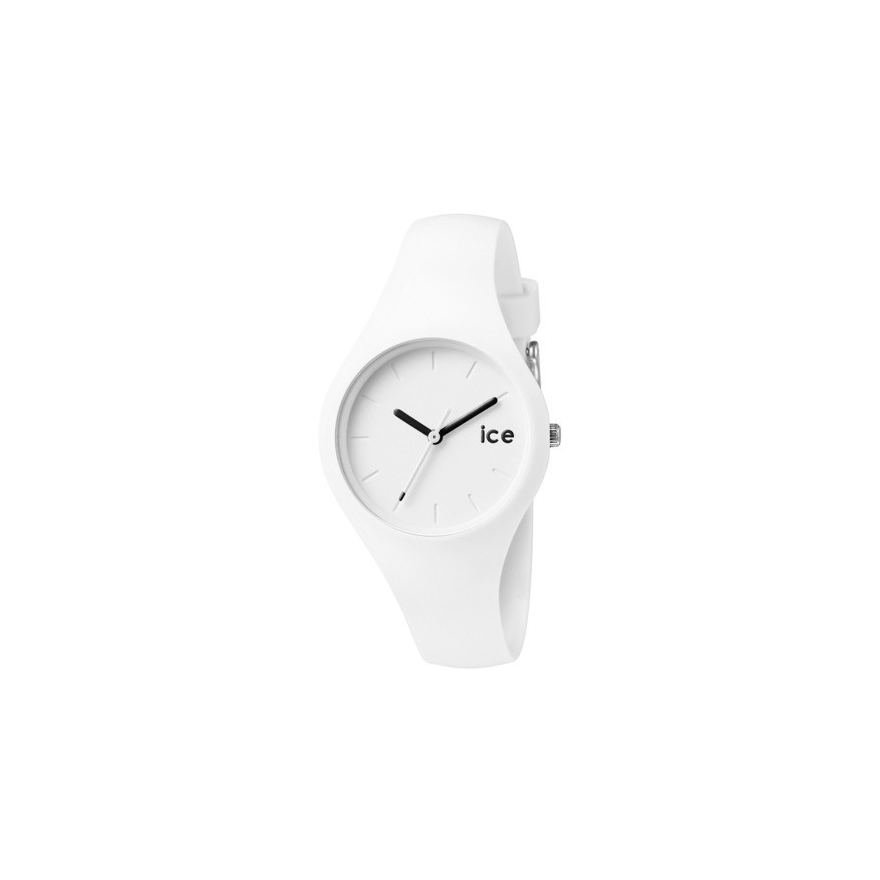 7f6006abd961b Montre Ice Watch blanche ICE.WE.S.S.14 pour FEMME
