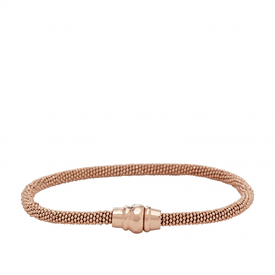 Bracelet Fossil pour femme, collection Fashion Doré rose JA6293791