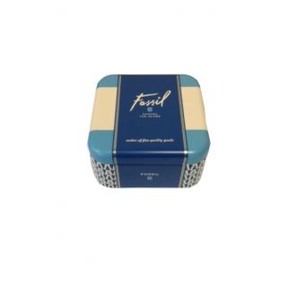 Boucles d'oreilles Fossil clous disque - doré rose JF00830791