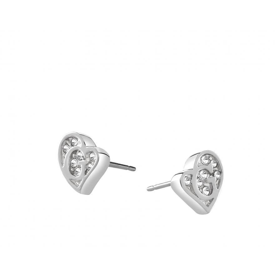 Boucles d'oreilles guess coeur