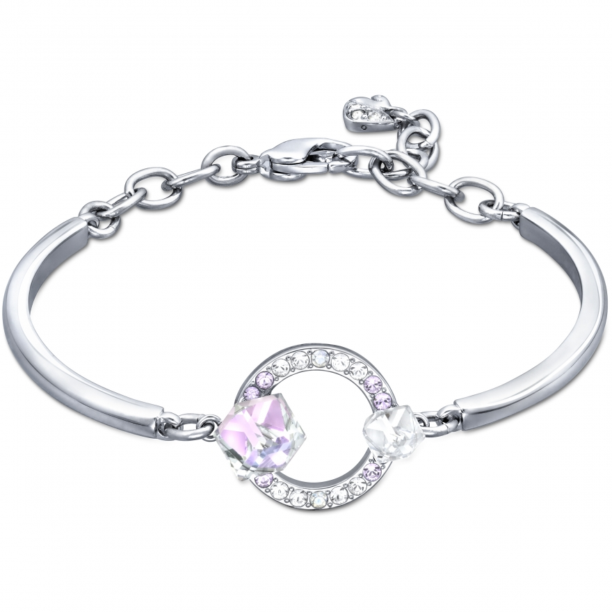 bracelet swarovski jonc geormetric 5032897 pour femme. Black Bedroom Furniture Sets. Home Design Ideas