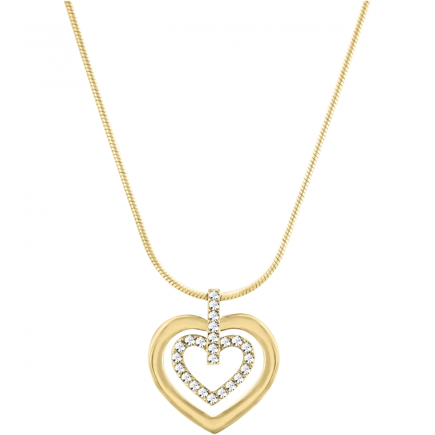 collier swarovski circle heart pendentif 5139604 pour femme. Black Bedroom Furniture Sets. Home Design Ideas