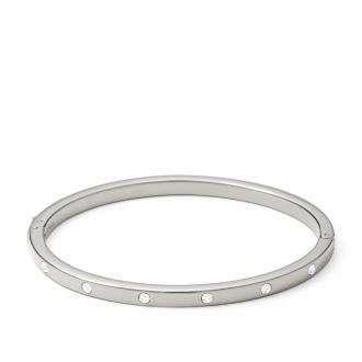 Bracelet Fossil Jonc argenté JF00841040_M