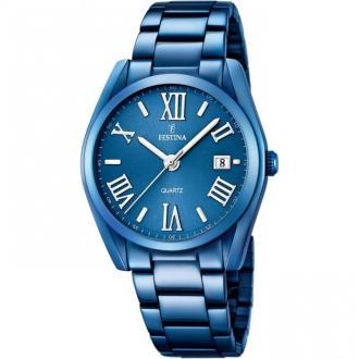 Montre Festina F16864/3 femme bleue