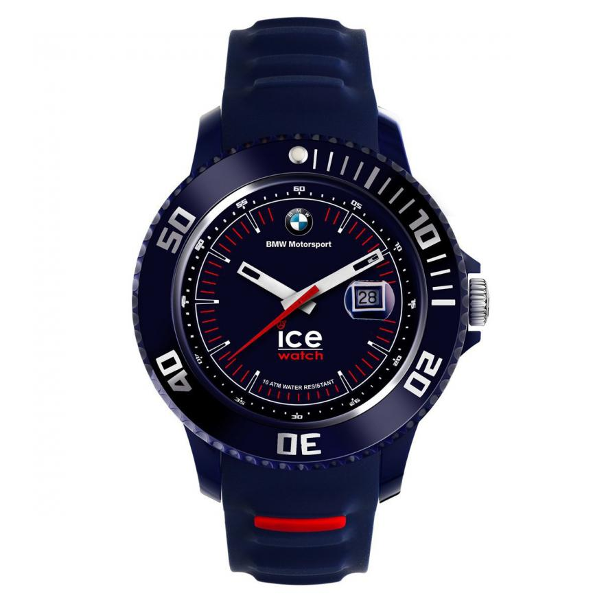 montre ice watch bmw motorsport silicone bm si dbe b. Black Bedroom Furniture Sets. Home Design Ideas