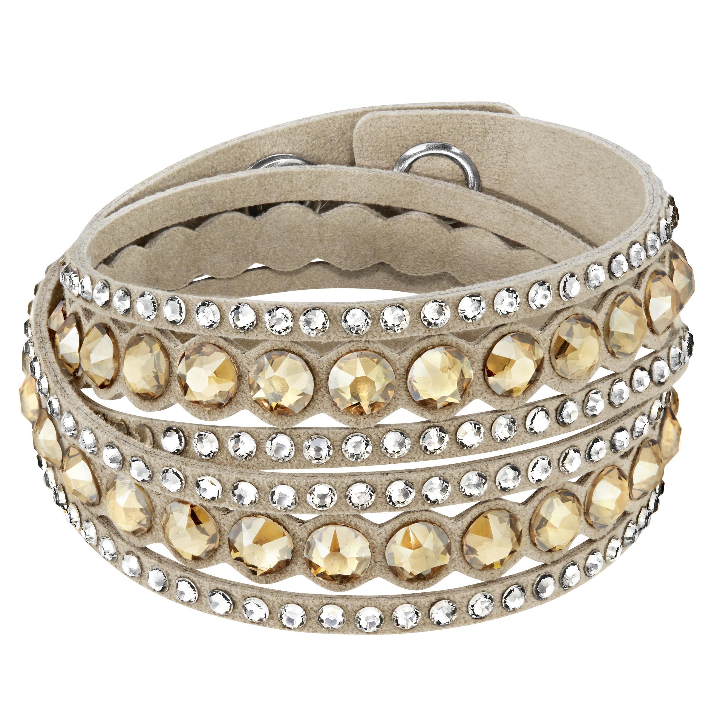bracelet femme beige