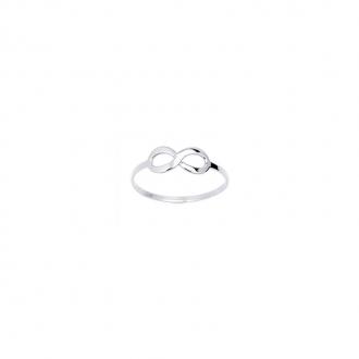 Carador - Bague Or Blanc 375/000 Infini 9K11279GR-54