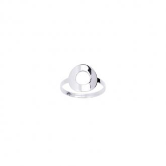 Carador - Bague Or Blanc 375/000 Cercle 9K11286GR