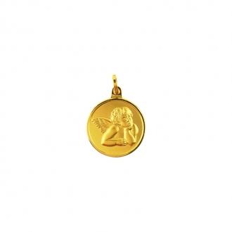 Médaille en or 375/000 Ange