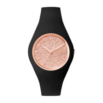 Montre ICE-WATCHIce Glitter noire et dorée rose 001353