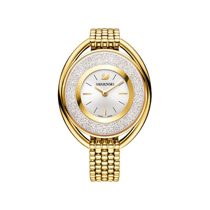 Montre Swarovski Crystalline Oval Gold Tone 5200339